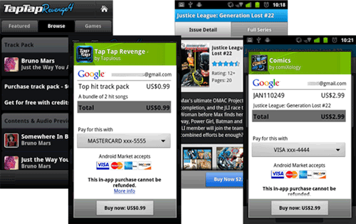 Android Market finally gets in-app billing